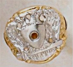 Scottish Rite Rings 10KT or 14KT Gold Open or Solid Back #1144