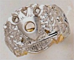 Scottish Rite Rings 10KT or 14KT Gold Open or Solid Back #1145