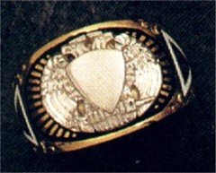 Scottish Rite Rings 10KT or 14KT Open Back #1132