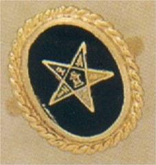 Eastern Star or Past Matron 10KT or 14KT  #13