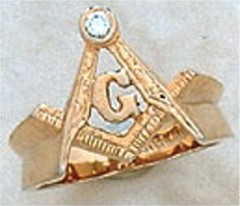 #102A 3rd Degree Masonic Blue Lodge Ring of Texas 10KT OR 14KT