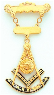 Past Master Breast Jewel #12