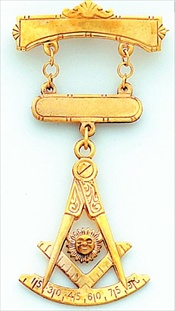 Past Master Breast Jewel #8
